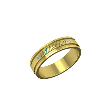 buy name engraved personalised ring in indiaaugrav
