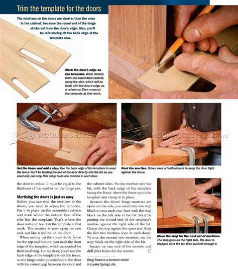 How to Install Knife Hinges ? WoodArchivist