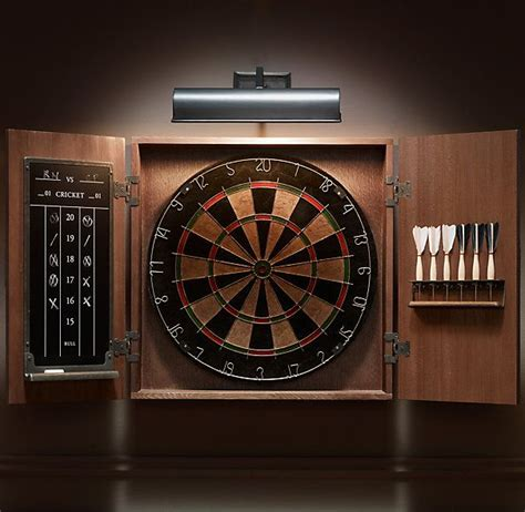 Dart Board Cabinet Lights by Dart Board Cabinet With Lights Home Decor