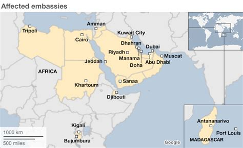 canadian embassy kuwait map us embassy closures extended militant threat fears