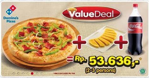 domino pizza lokasi jakarta daftar harga menu domino pizza delivery indonesia 2017