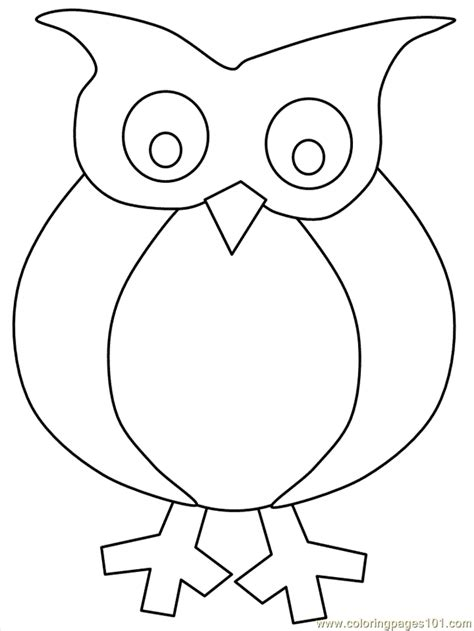 printable owl pattern coloring home