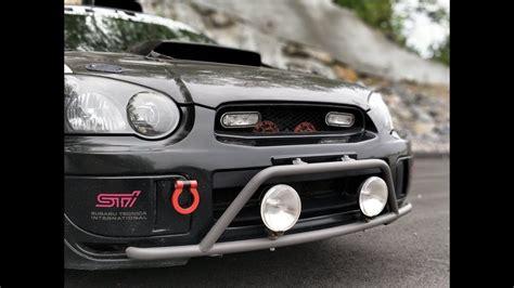 subaru rally light bar rally innovations light bar install and review on my 2004