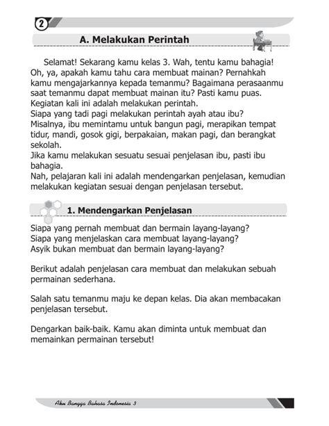 teks prosedur membuat layang layang bahasa indonesia bahasa indonesia sd mi kelas03 aku bangga bahasa