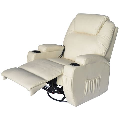 Ergonomic Recliner Chair - homcom sofa recliner chair ergonomic heated
