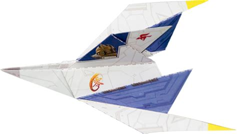 arwing origami 28 images origami arwing 2 by omjeee on