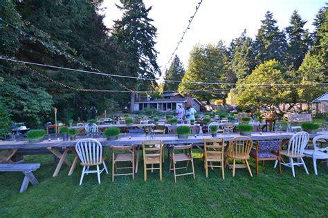 small backyard wedding ideas on a budget amazing wedding on a small budget in suquamish masters