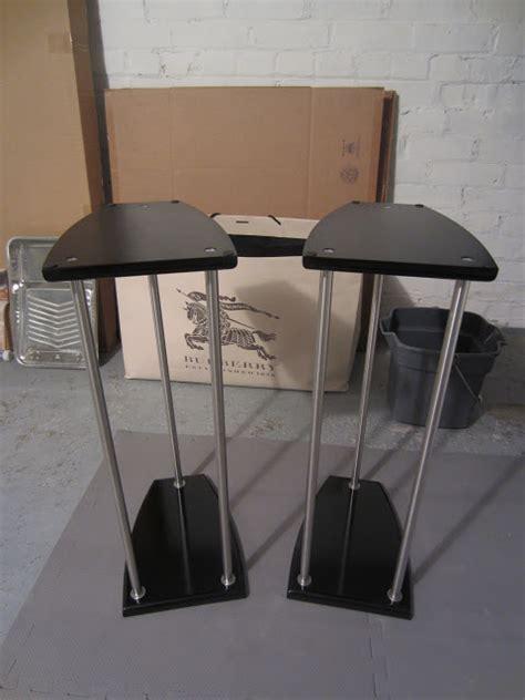ikea desk speaker stands grundtal lightweight speaker stands 3 different sizes
