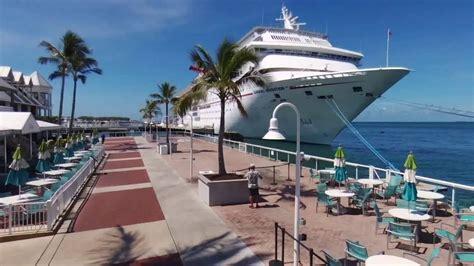 cruise to key west carnival cruise miami key west cozumel 4k