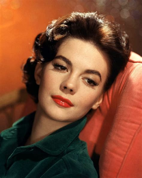 wood hairstyles a slice of cheesecake natalie wood in color