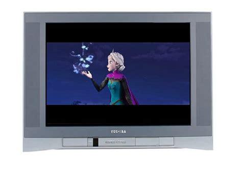 frozen on silver toshiba tv by espioartwork 102 on deviantart