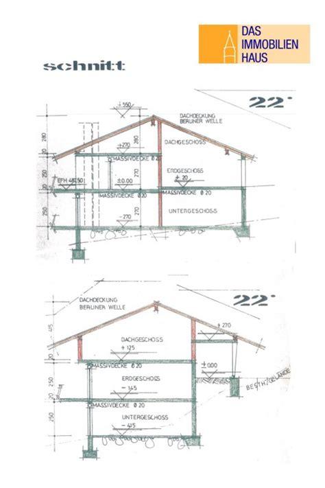 schnittzeichnung haus gro 223 es haus mit doppelter bergsicht top wohnlage mit