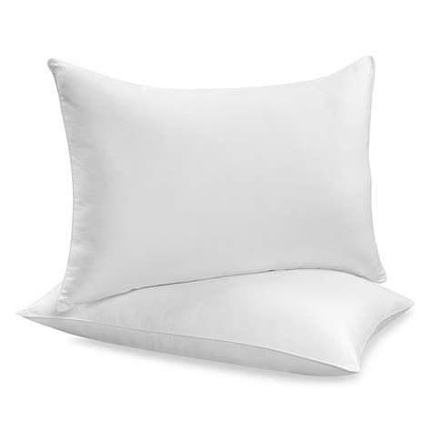storing pillows buying guide to pillows bed bath beyond