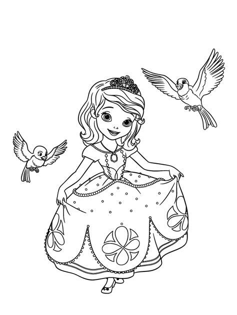 pour imprimer ce coloriage gratuit 171 coloriage princesse sofia disney 3 187 cliquez sur l ic 244 ne