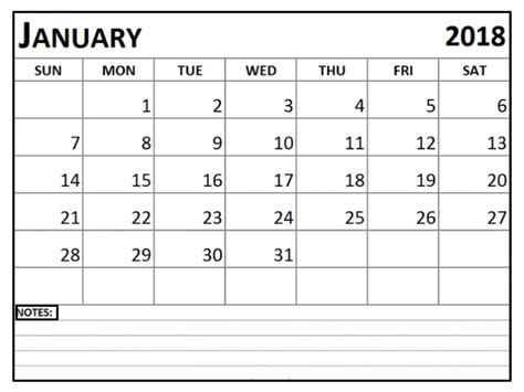 january 2018 calendar template editable january 2018 calendar editable printable