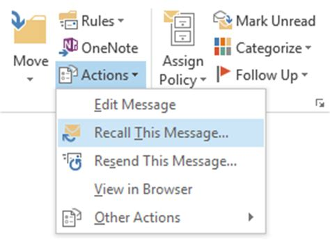 Office 365 Outlook Recall Message Office 365 Recall Message 28 Images Outlook Agrega