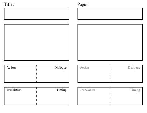storyboard sle in word storyboard template mr randall s classroom primary