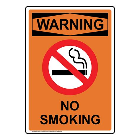 No Smoking Signs And Labels Osha Warning | no smoking signs and labels osha warning