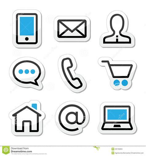 imagenes iconos web iconos del movimiento del web page del contacto fijados