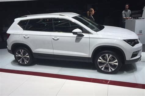 seat ateca black seat ateca suv revealed pictures auto express