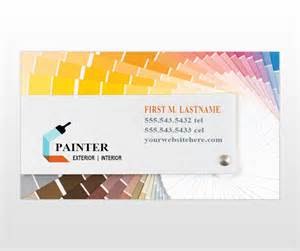 Painter Business Card Template by Document Moved