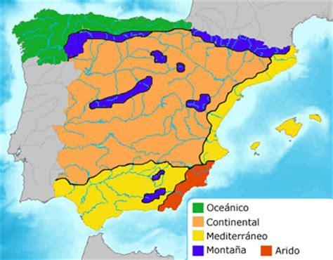 zonas climaticas de espana las espa 241 a clima epoca para viajar a espa 241 a gu 237 a de viajes