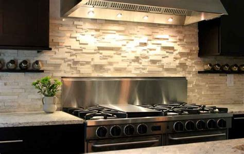 Kitchen Stone Backsplash 10 Modern Kitchen Backsplash Ideas Model Home Decor Ideas