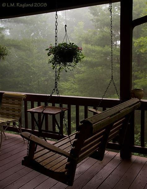 country porch swings a country porch swing peace and tranquility pinterest