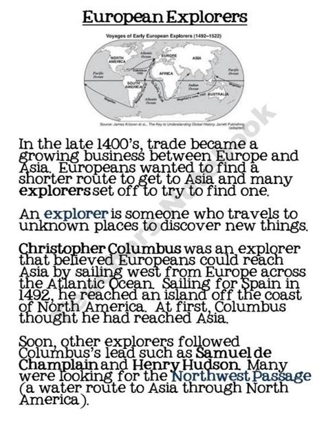 Explorers Worksheets by 17 Best Ideas About Explorers Unit On Early