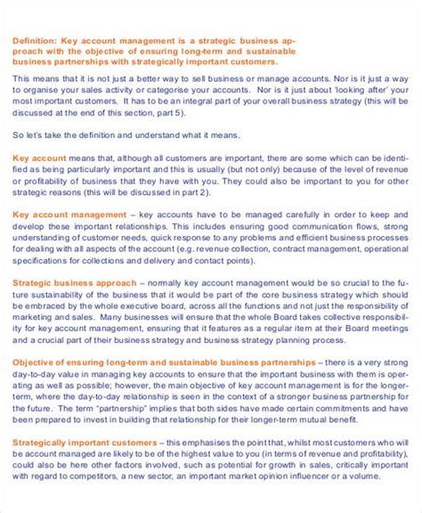 account management description sle 8 exles in word pdf