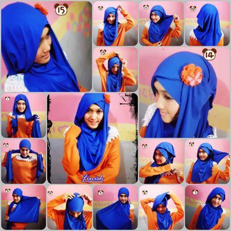 Jilbab Segi Empat Kaku ragam jenis dan model kerudung yang modis