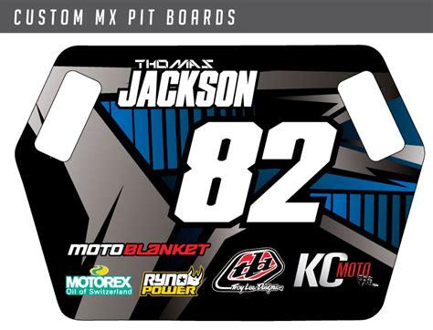 custom motocross jersey printing custom mx pit boards bikegraphix