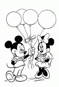 free coloring pages mickey birthday