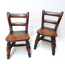 Miniature Chairs by Pr Miniature Kitchen Chairs Antiques Atlas