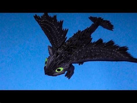 tutorial origami dragon 3d 3d origami dragon night fury toothless tutorial