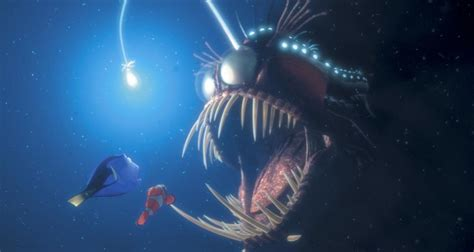 Finding Nemo Light Fish by Anglerfish Pixar Wiki Fandom Powered By Wikia