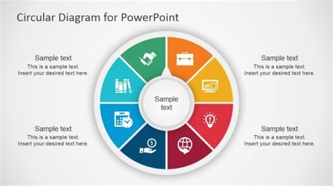 free powerpoint diagram templates best circular diagrams templates for presentations