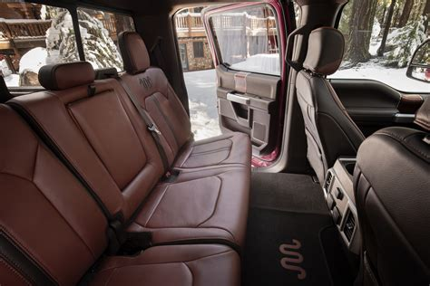 interior  ford   super duty king ranch crew cab