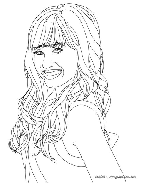 demi free colouring pages