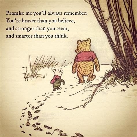 we think in secret knowyourself overcomeyourself books remember pooh quotes quotesgram