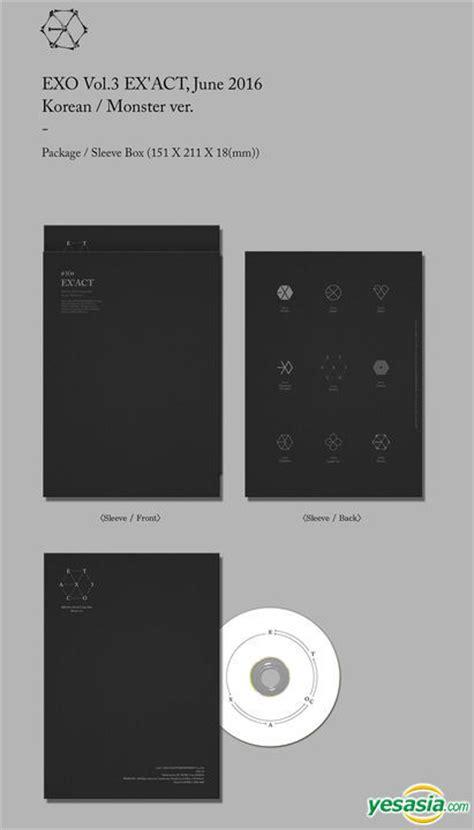 download mp3 exo lucky korean version yesasia exo vol 3 ex act korean chinese version