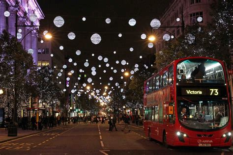 oxford street christmas lights to be unveiled on november