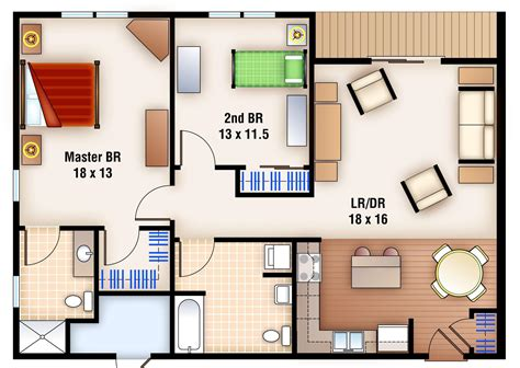 bedroom blueprint 2 bedroom apartment layout design download 2 bedroom