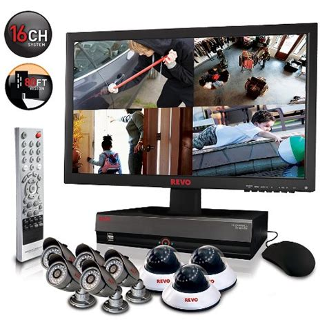 revo remote home security monitoring surveillance