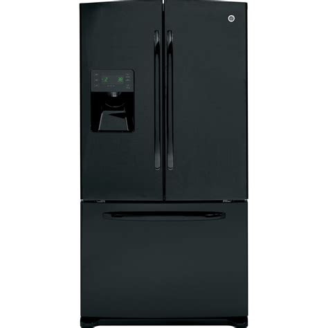 door refrigerator bottom freezer ge gfsf6kkybb 25 9 cu ft door bottom freezer