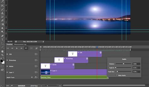 adobe photoshop animation tutorial photoshop zone creating animation with audio in photoshop cs6