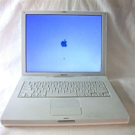 Second Laptop Apple Ibook G4 apple ibook g4 1 33 ghz 768mb ram 40 gb drive