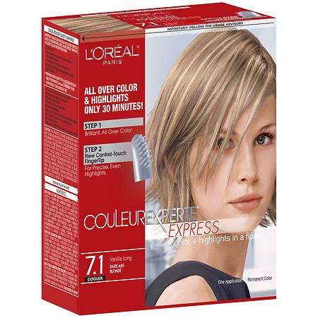best drug store hair color to cover the grey l oreal paris couleur experte express easy 2 in 1 color