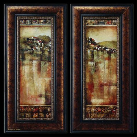 tuscan style wall decor tuscan wall paessagio italiano