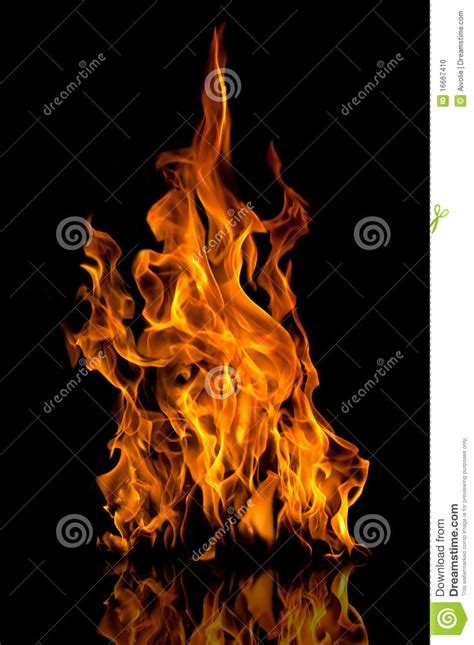 flames stock photo image of glowing fiery inferno